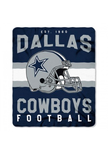 NFL Dallas Cowboys Singular Fleece Throw