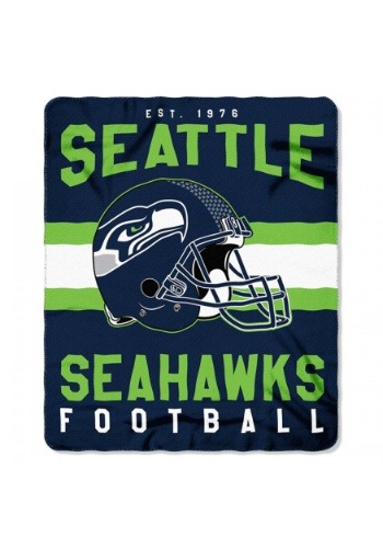 NFL Seattle Seahawks Singular Fleece Throw