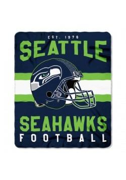NFL Seattle Seahawks Singular Fleece Throw