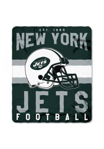 New York Jets NFL Singular Fleece Throw
