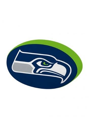 Cloud Seattle Seahawks Logo Pillow