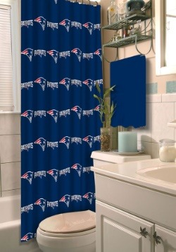 New England Patriots Shower Curtain