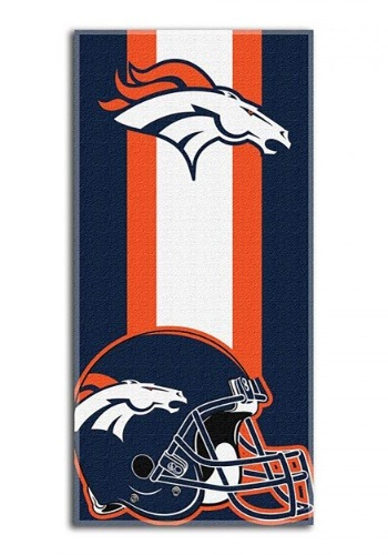 Denver Broncos Beach Towel
