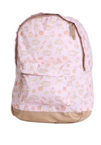 All Over Print Pusheen Pink Backpack