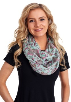 Mermaid Pusheen Infinity Scarf