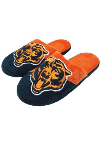 Chicago Bears Colorblock Slide Slippers