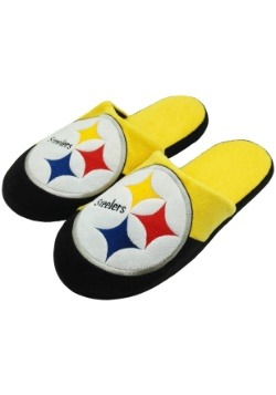 Pittsburgh Steelers Colorblock Slide Slippers