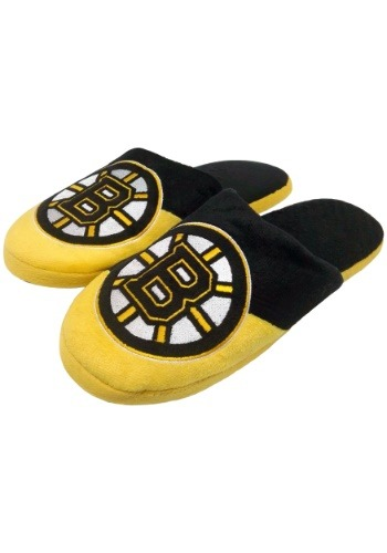 Boston Bruins Colorblock Slide Slippers