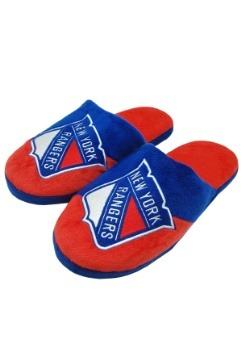 New York Rangers Colorblock Slide Slipper
