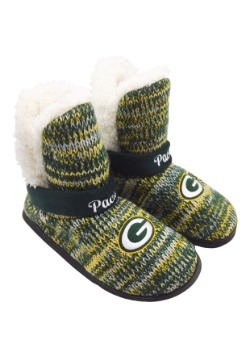 Green Bay Packers Womens Wordmark Peak Boots