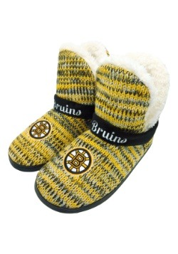 Wordmark Peak Boston Bruins Mukluk Boots
