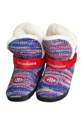 Montreal Canadiens Wordmark Peak Mukluk Boots For Women
