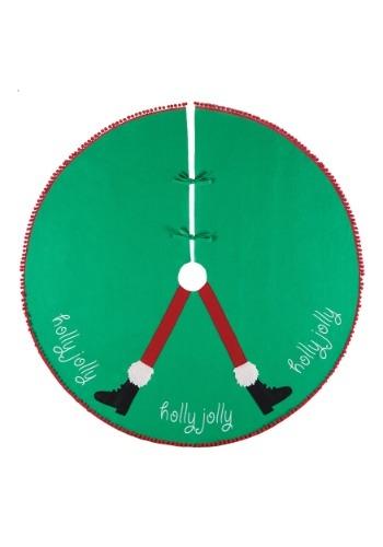 "Holly Jolly 54"" Felt Tree Skirt"