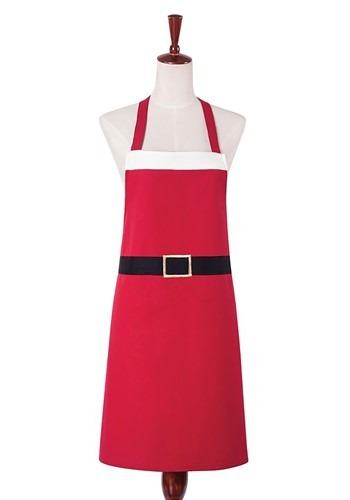 Santa Claus Red Apron