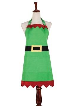 Christmas Elf Green Apron