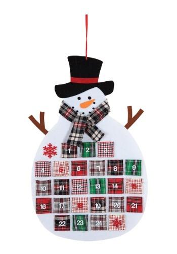 Snowman Flannel Advent Calendar