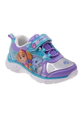 Paw Patrol Everest & Skye Girl's Light Up Sneakers