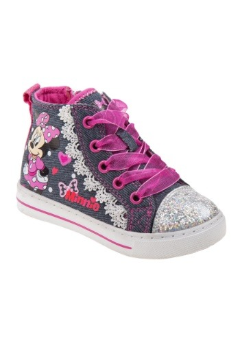 Minnie Mouse High Top Girls Sneakers