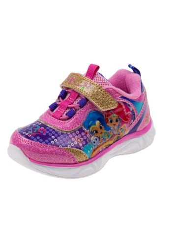 Shimmer and Shine Girls Light Pink Light Up Sneakers