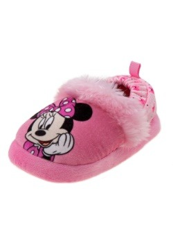 Minnie Mouse Pink Child Slippers
