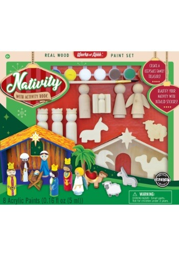 MasterPieces Works of Ahhh Nativity Paint Kit