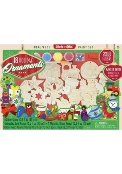 MasterPieces Works of Ahhh 18 Pack Ornaments Paint Set