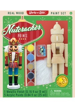 MasterPieces Works of Ahhh Nutcracker Prince Paint Set