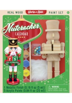 MasterPieces Works of Ahhh Nutcracker Calendar Paint Set