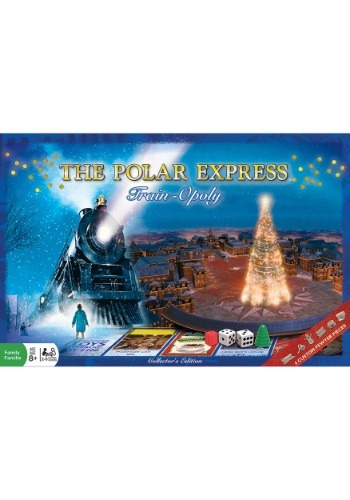 Polar Express Train Opoly Board Game
