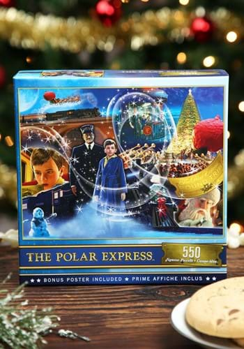 MasterPieces The Polar Express 550 Piece Puzzle