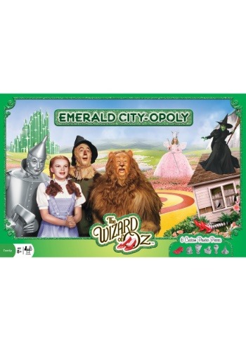 MasterPieces Emerald City Opoly Board Game