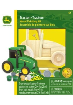 MasterPieces John Deere Tractor Wood Paint Kit