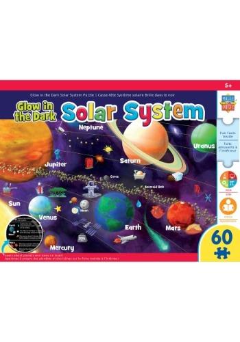 MasterPieces Glow-In-The-Dark Solar System 60 piece puzzle