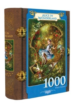 MasterPieces Alice in Wonderland 1000 Piece Book Box Puzzle