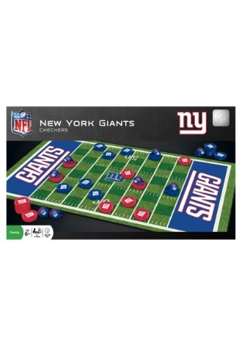 MasterPieces NFL New York Giants Checkers