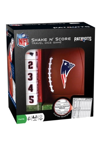 MasterPieces NFL New England Patriots Shake N' Score