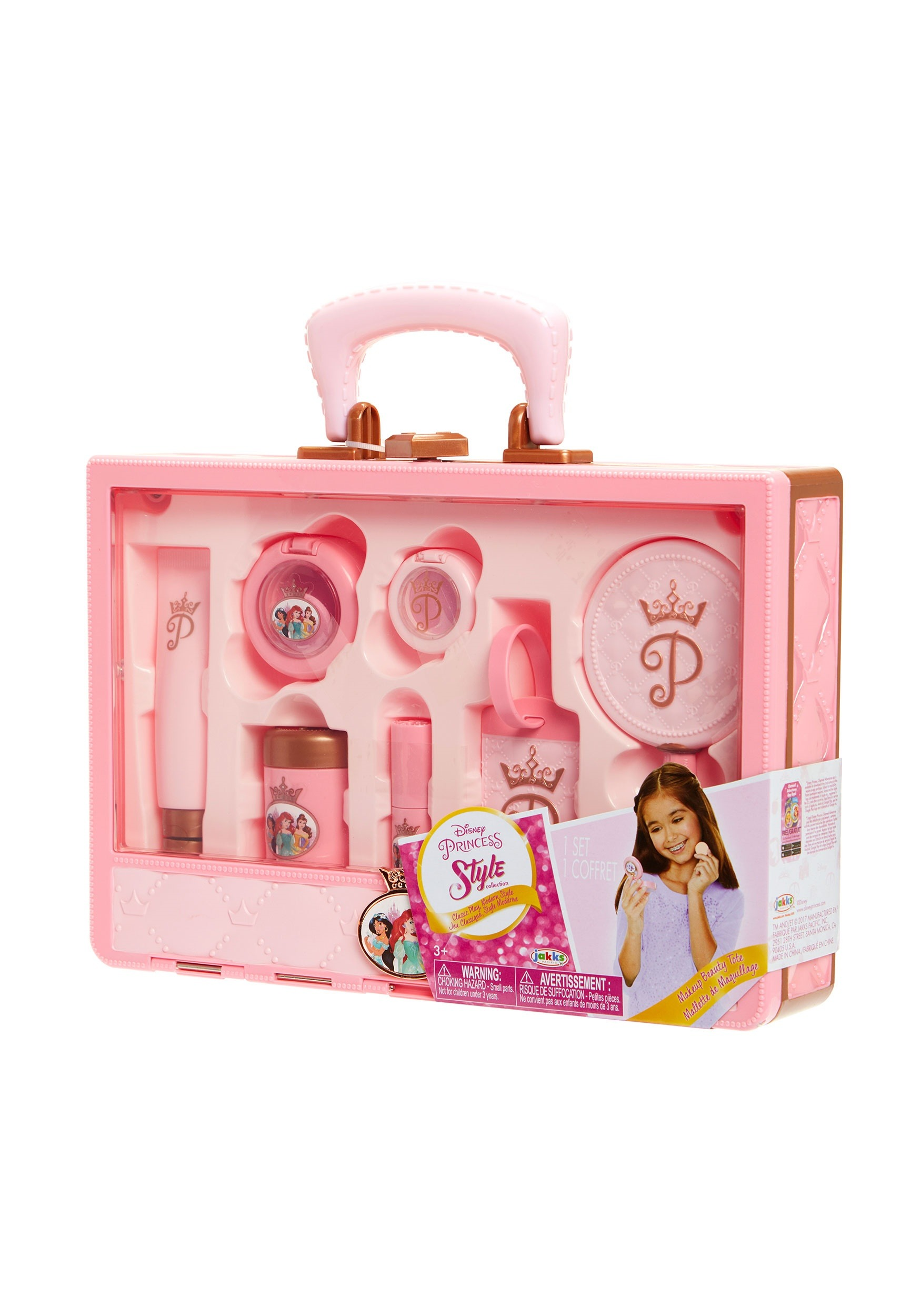 652d89829ef6 Disney Princess Style Collection Makeup Travel Tote