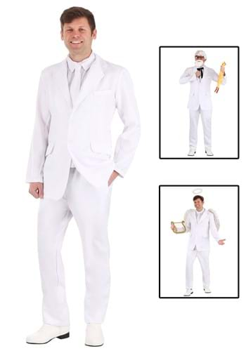 Men's White Costume Suit