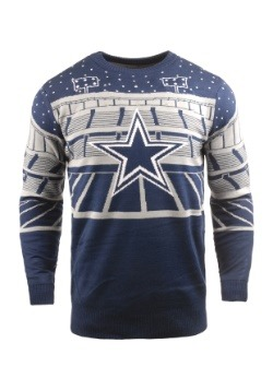 Dallas Cowboys Light Up Bluetooth Ugly Christmas Sweater