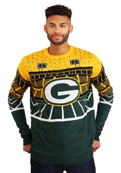 Green Bay Packers Light Up Bluetooth Ugly Christmas Sweater