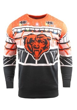 Chicago Bears Light Up Ugly Christmas Sweater