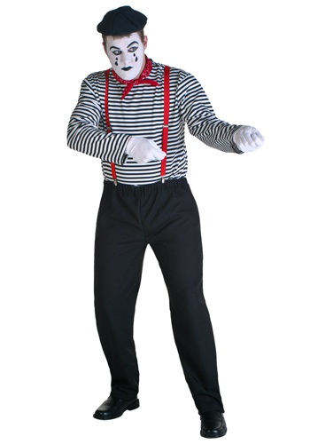 Mime Costume For Adults