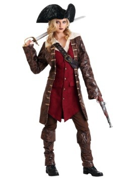 Caribbean Pirate Womens Costume