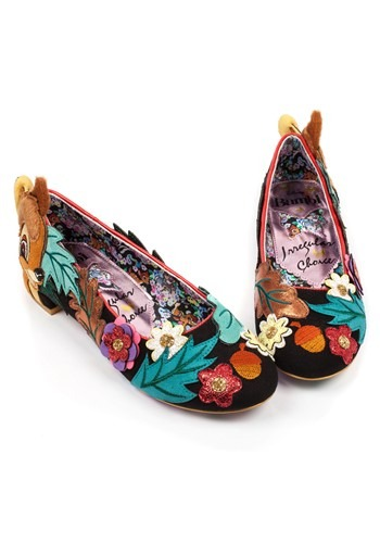 Irregular Choice Women's Disney Bambi Flats