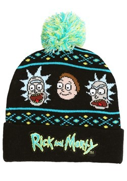 Adult Rick and Morty Beanie