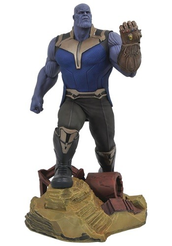Marvel Gallery Avengers 3 Thanos PVC Statue1