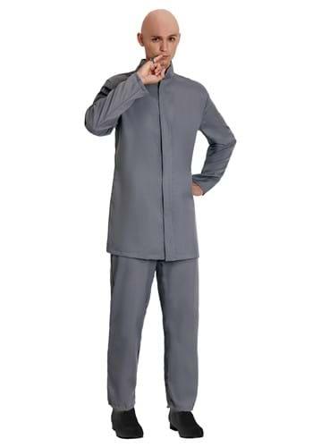 Deluxe Evil Gray Suit Costume