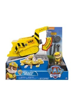Paw Patrol Flip & Fly Rubble 2-in-1 Transforming Vehicle