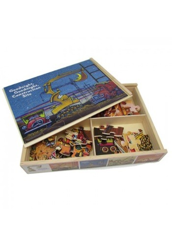 Goodnight, Goodnight Construction Site Wood Jigsaw Puzzles