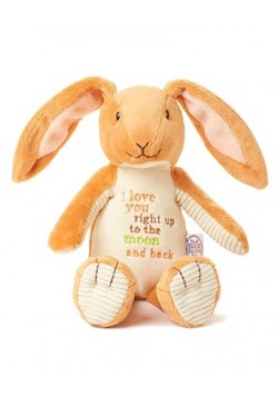 Guess How Much I Love You Nutbrown Hare Beanbag Bunny Plush